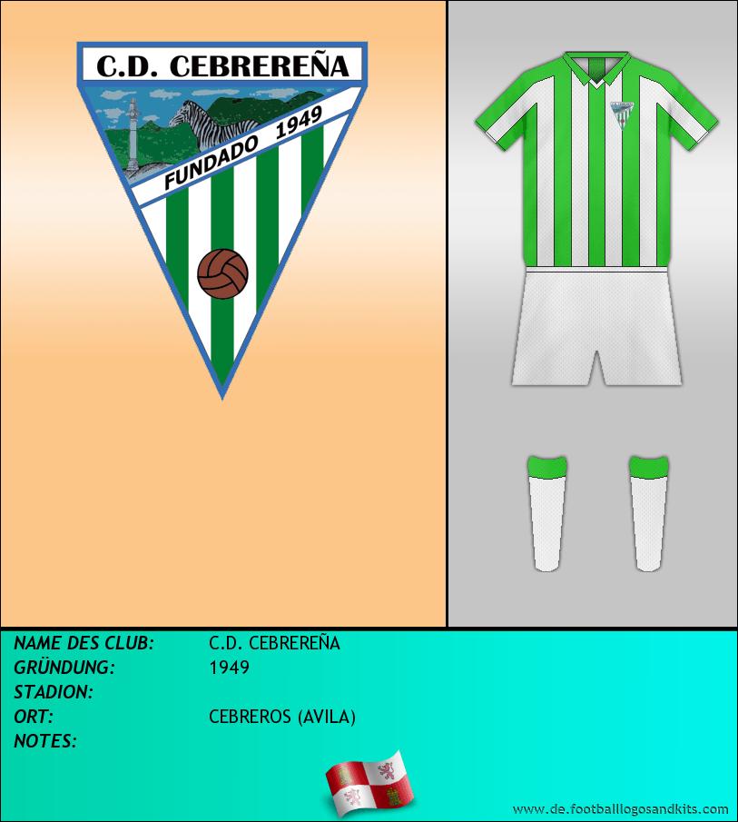 Logo C.D. CEBREREÑA