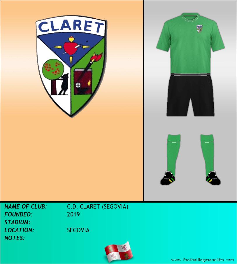Logo of C.D. CLARET (SEGOVIA)