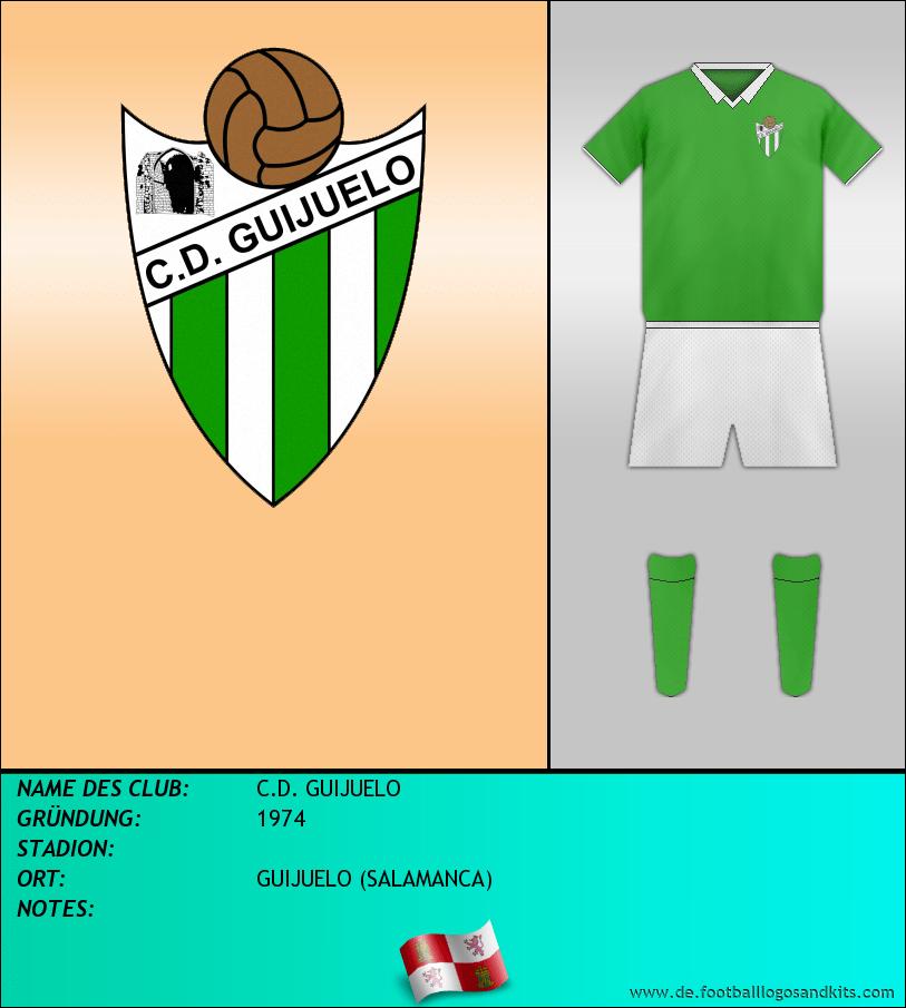 Logo C.D. GUIJUELO