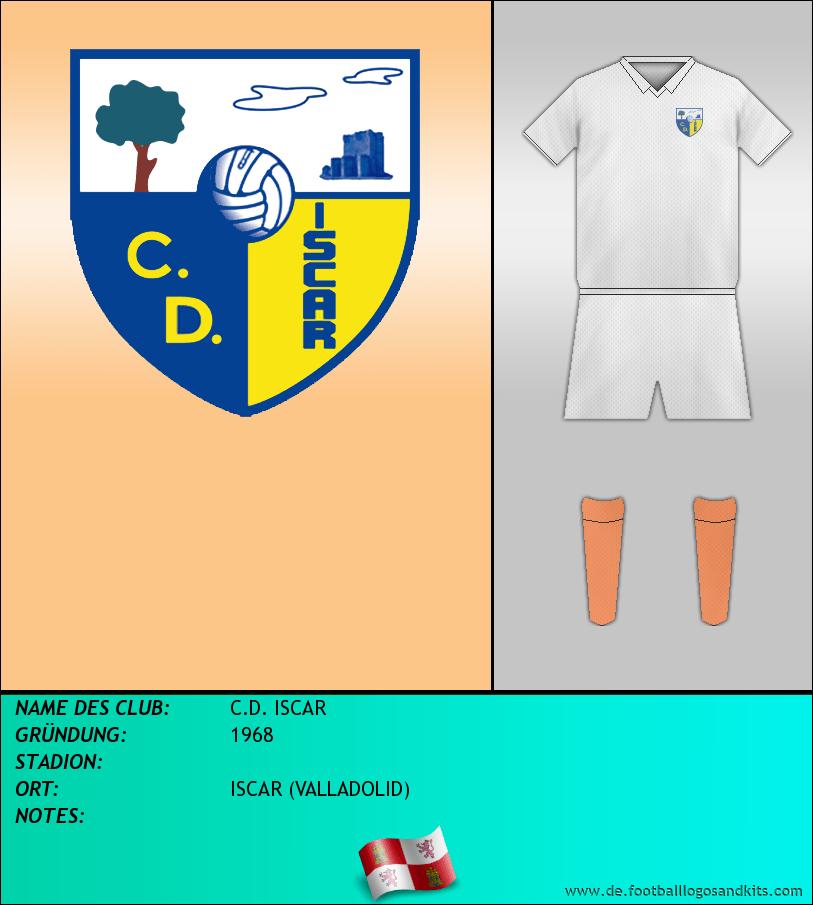 Logo C.D. ISCAR