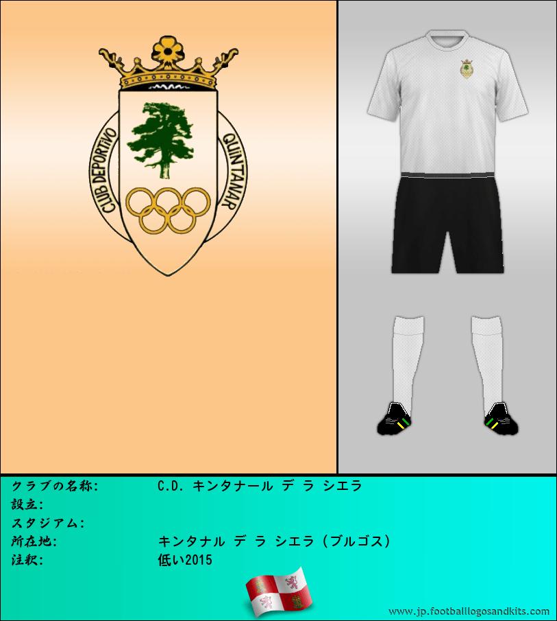 のロゴC.D. QUINTANAR ・ デ ・ ラ ・ シエラ