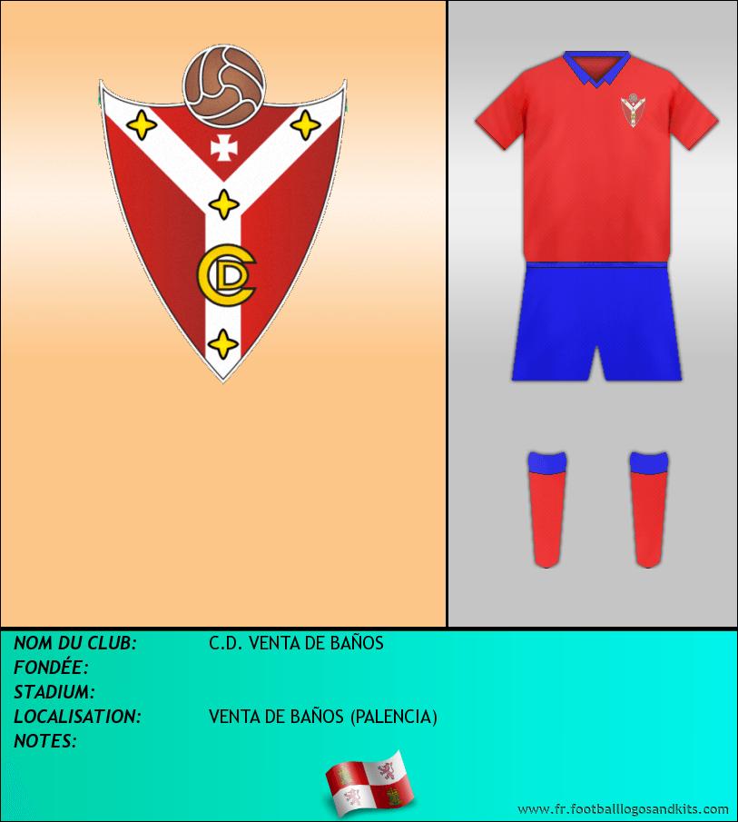 Logo de C.D. VENTA DE BAÑOS