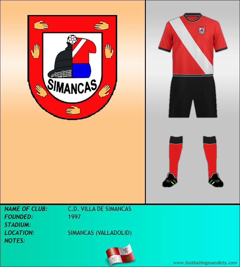 Logo of C.D. VILLA DE SIMANCAS