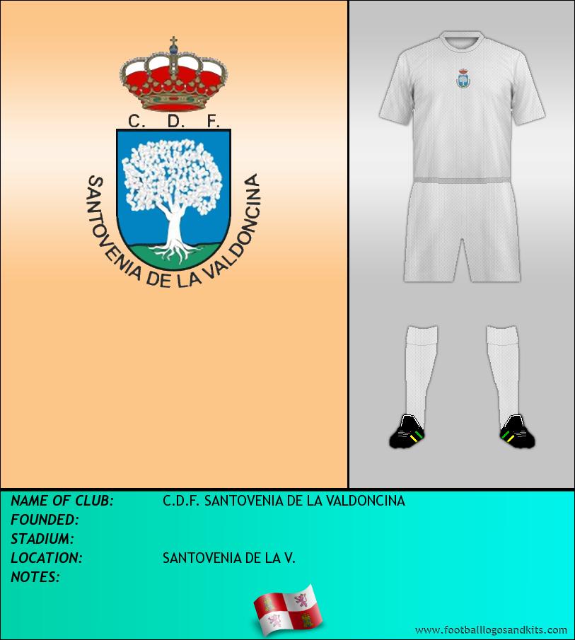 Logo of C.D.F. SANTOVENIA DE LA VALDONCINA