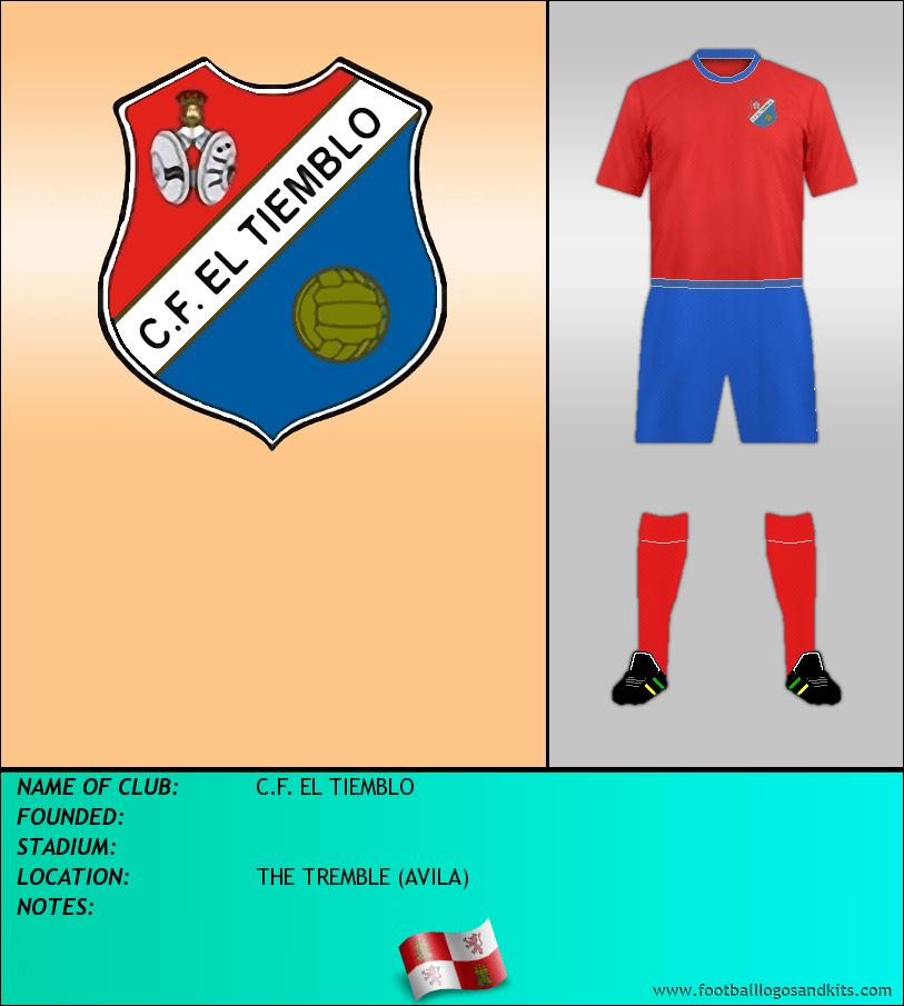 Logo of C.F. EL TIEMBLO