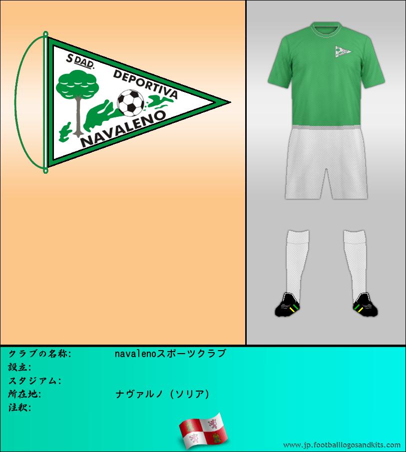 のロゴnavalenoスポーツクラブ