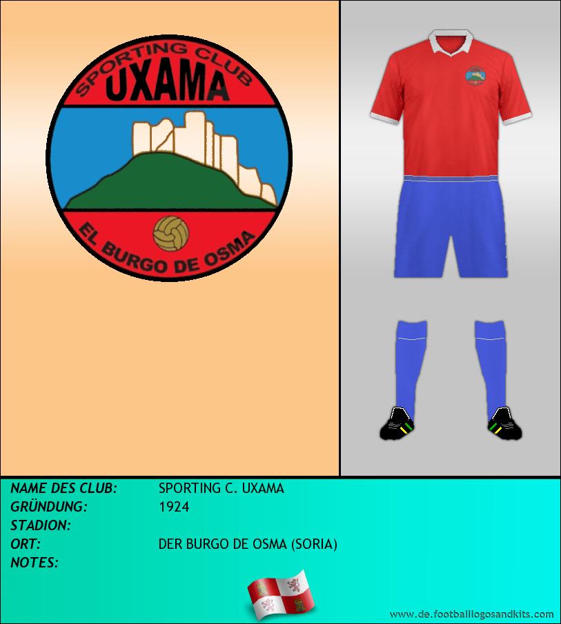 Logo SPORTING C. UXAMA