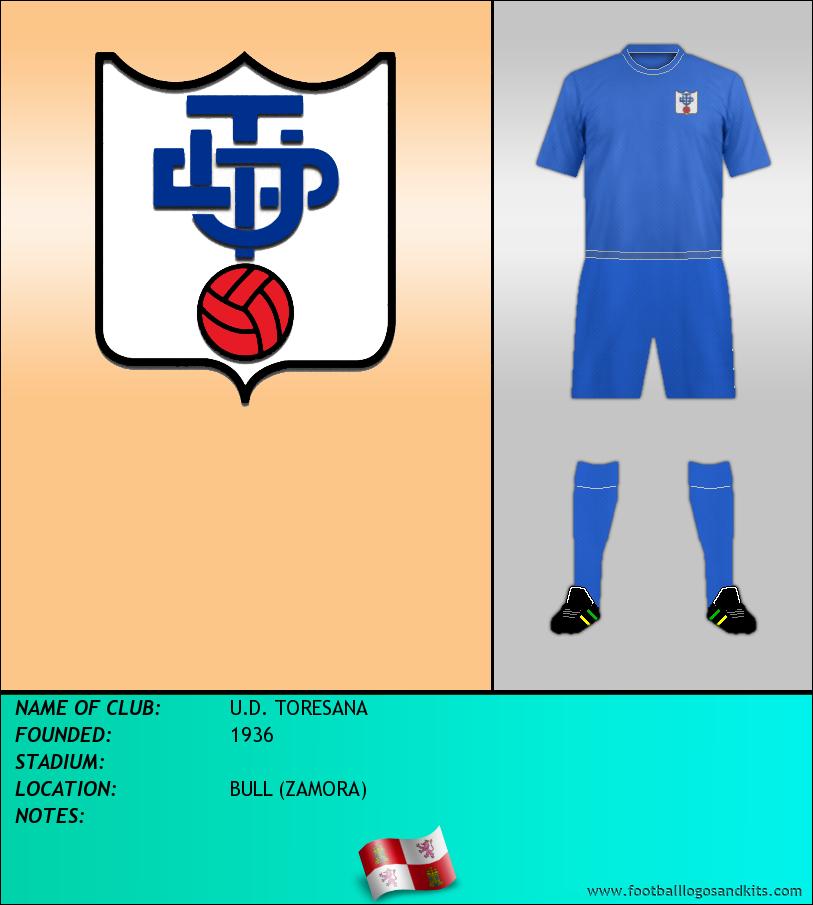 Logo of U.D. TORESANA