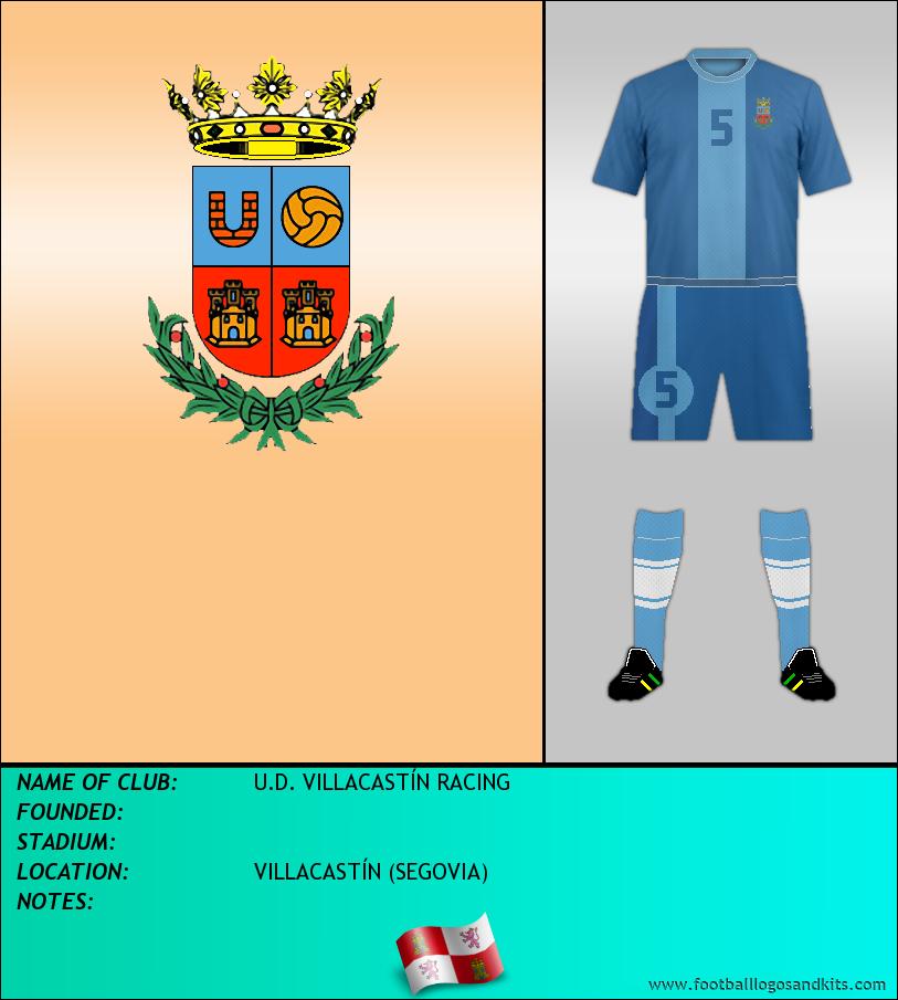 Logo of U.D. VILLACASTÍN RACING