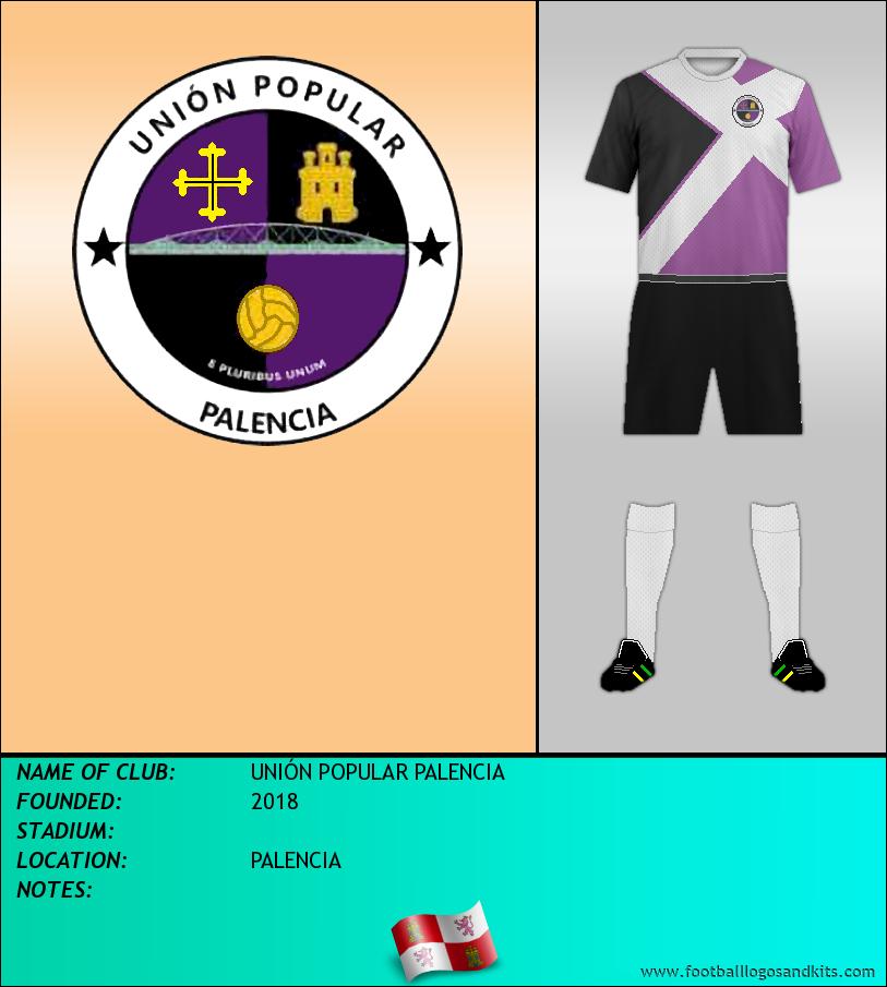 Logo of UNIÓN POPULAR PALENCIA