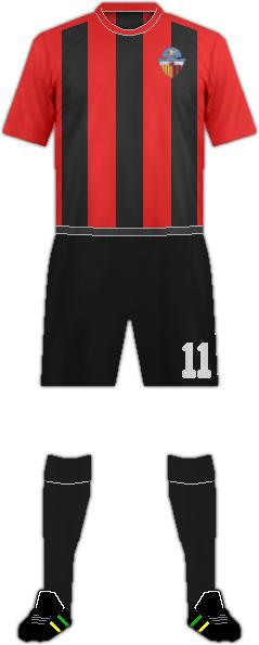 Trikot SANT CUGAT ESPORT FC