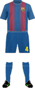 套件巴塞罗那足球俱乐部