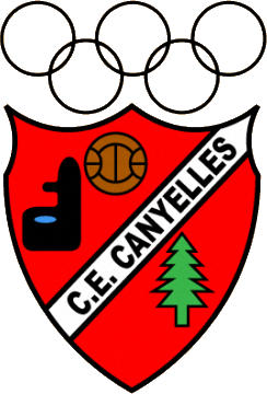 Logo of C.E. CANYELLES (CATALONIA)