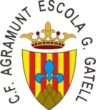 Logo C.F. AGRAMUNT ESCOLA G. GATELL (CATALONIA)