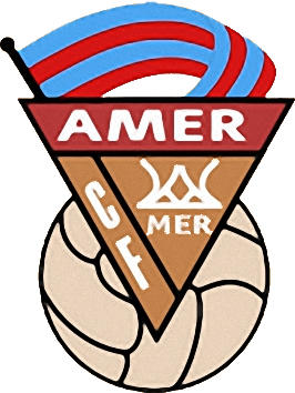 Logo of C.F. AMER (CATALONIA)