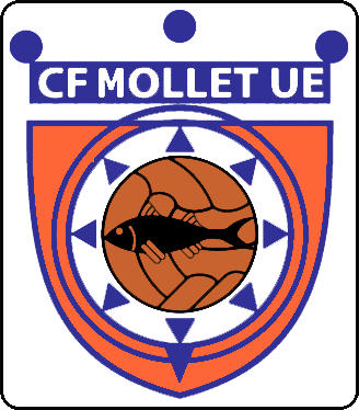 Logo of C.F. MOLLET UE (CATALONIA)