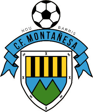 Logo of C.F. MONTAÑESA (CATALONIA)