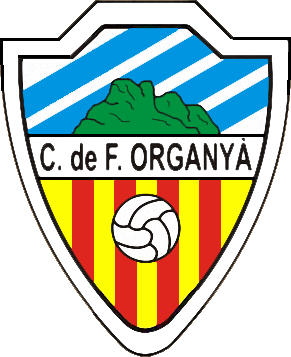 Logo of C.F. ORGANYÀ (CATALONIA)