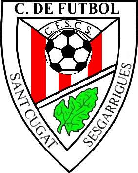 Logo of C.F. SANT CUGAT SESGARRIGUES (CATALONIA)