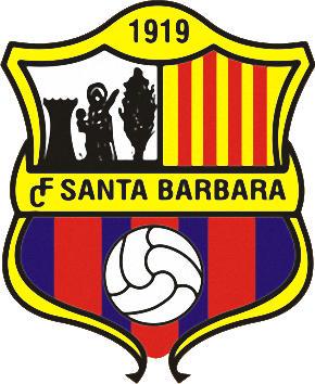 Logo of C.F. SANTA BÁRBARA (CATALONIA)