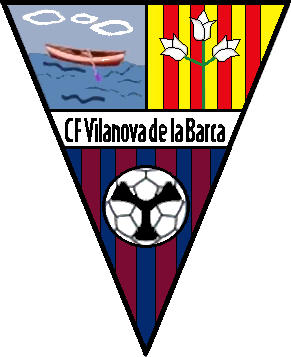 Logo of C.F. VILANOVA DE LA BARCA (CATALONIA)