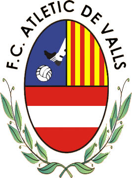Logo of F.C. ATLETIC DE VALLS (CATALONIA)