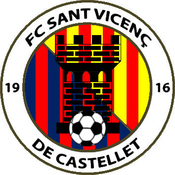Logo of F.C. SANT VICENÇ 2018 (CATALONIA)