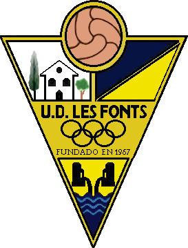 Logo of U.E. LES FONTS (CATALONIA)