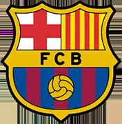 のロゴバルセロナフットボールクラブ