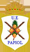 のロゴU.E. パピオール
