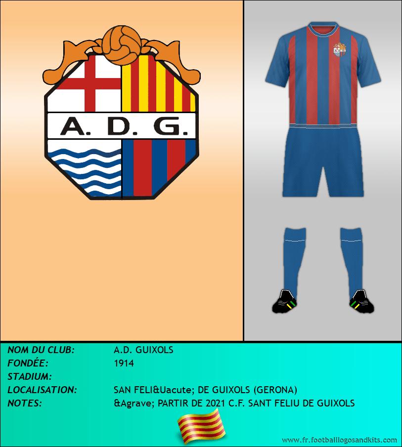 Logo de A.D. GUIXOLS