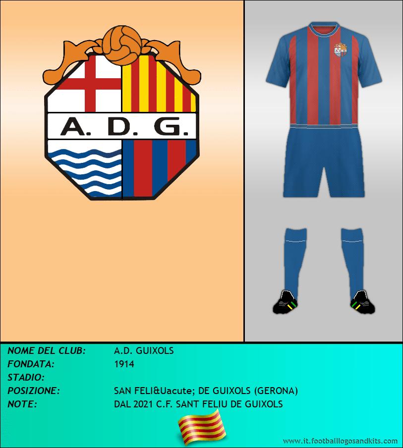 Logo di A.D. GUIXOLS
