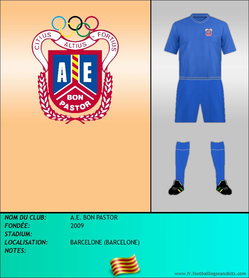 Logo de A.E. BON PASTOR
