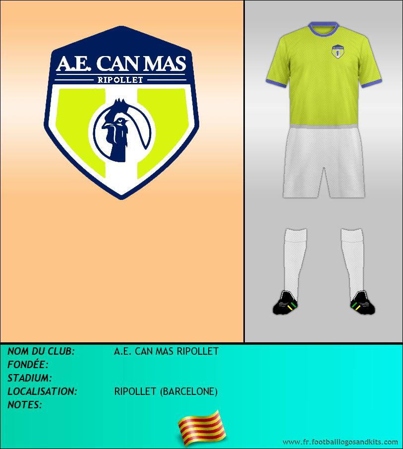 Logo de A.E. CAN MAS RIPOLLET