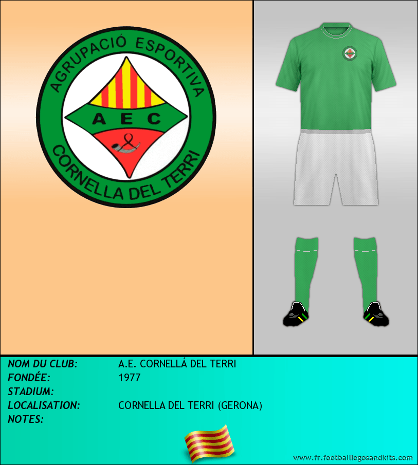 Logo de A.E. CORNELLÁ DEL TERRI