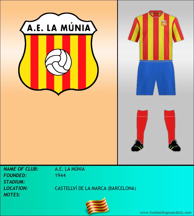 Logo of A.E. LA MÚNIA