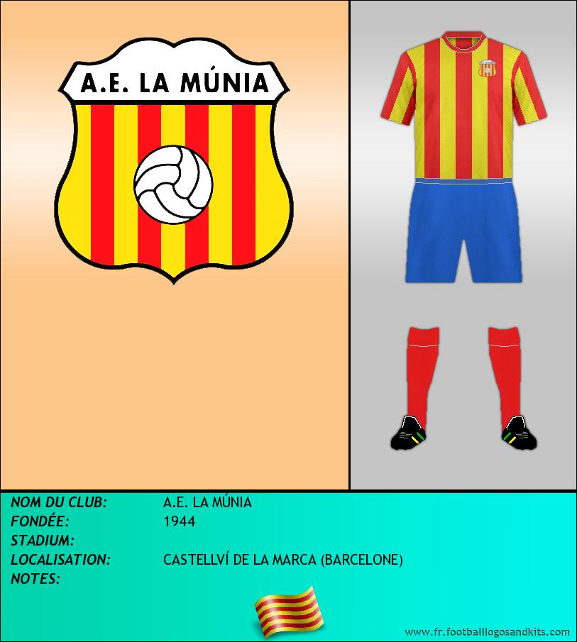 Logo de A.E. LA MÚNIA