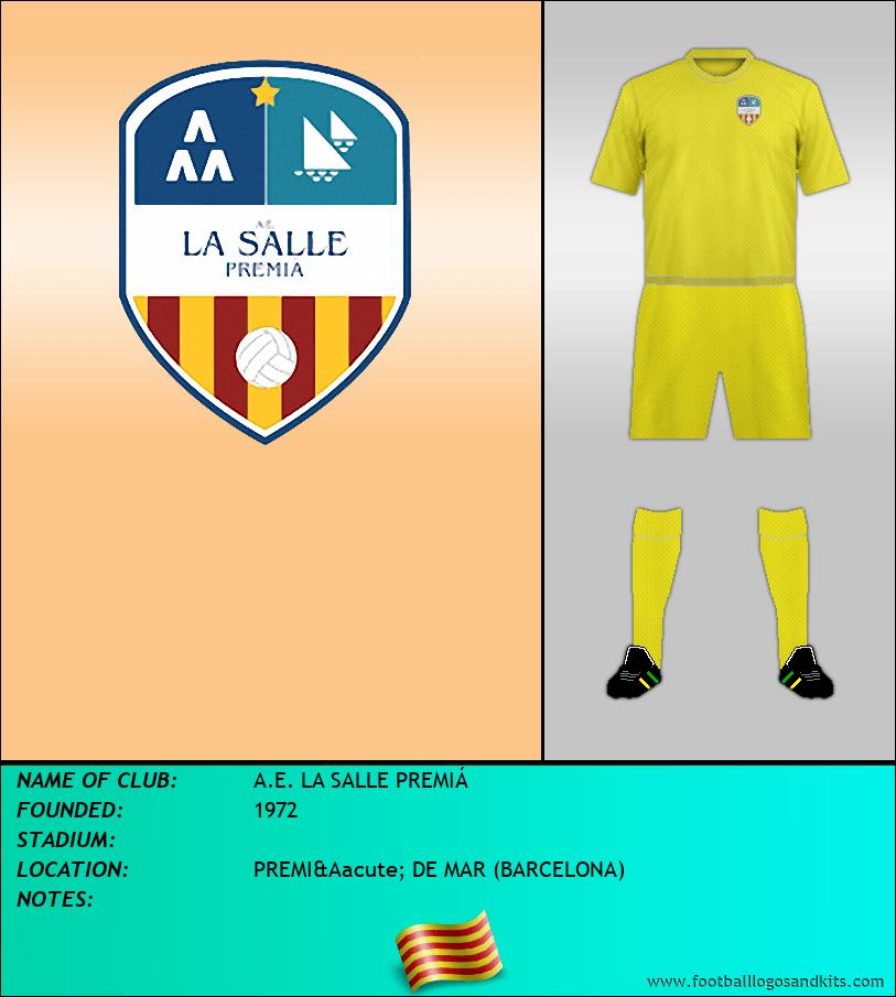 Logo of A.E. LA SALLE PREMIÁ