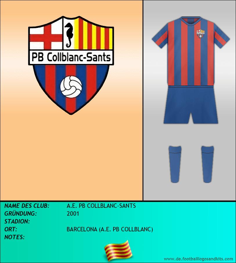 Logo A.E. PB COLLBLANC-SANTS