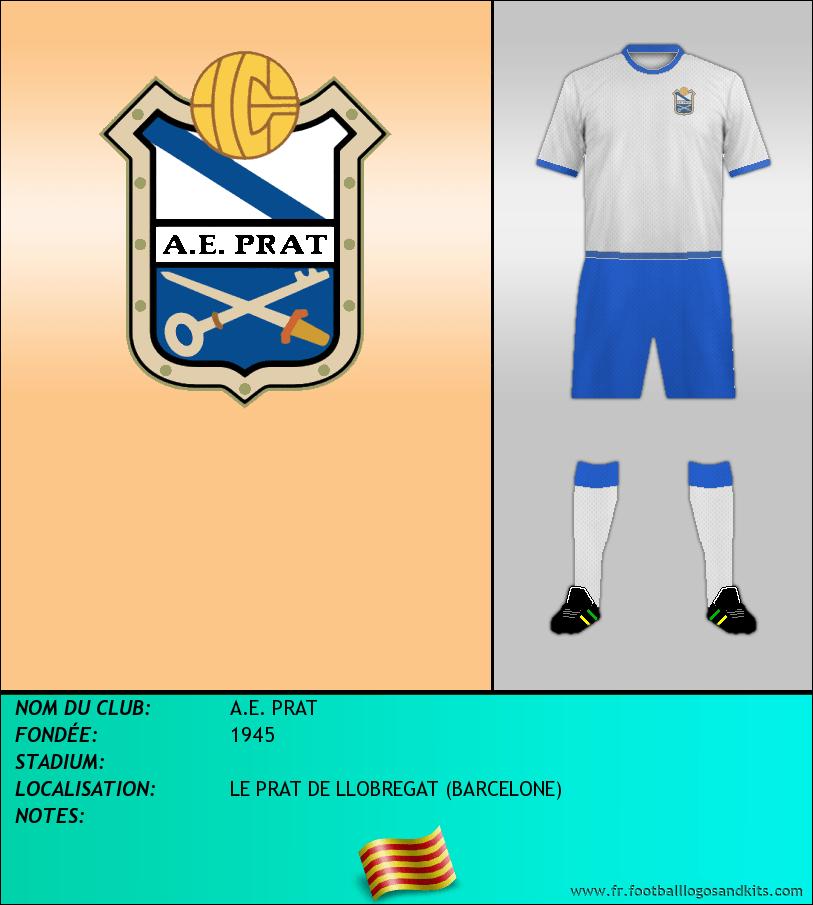 Logo de A.E. PRAT