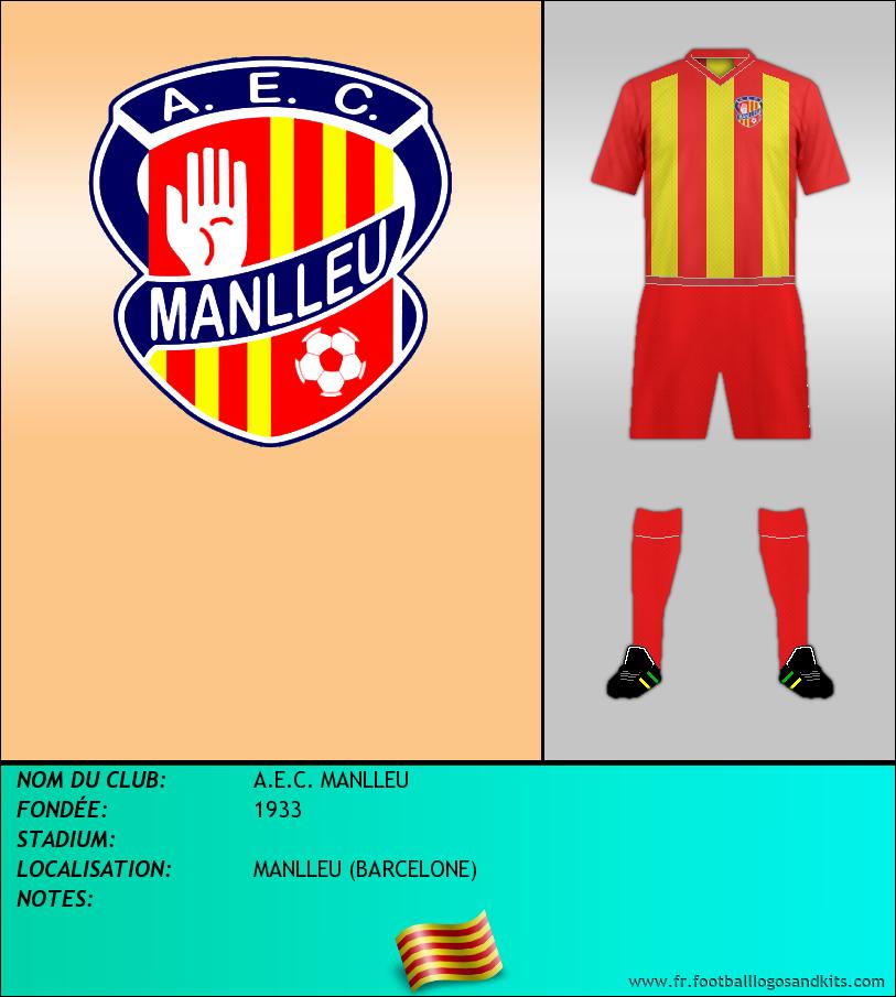 Logo de A.E.C. MANLLEU