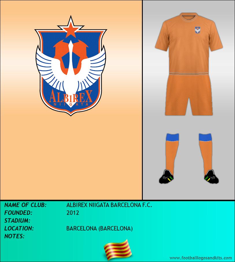Logo of ALBIREX NIIGATA BARCELONA F.C.
