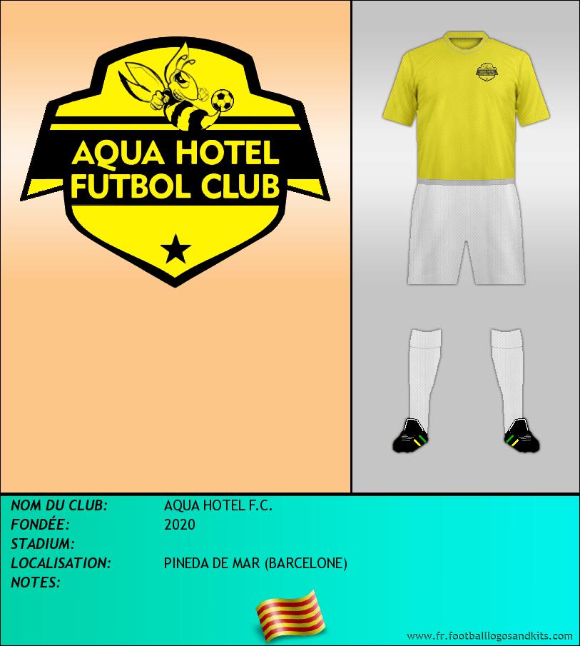 Logo de AQUA HOTEL F.C.