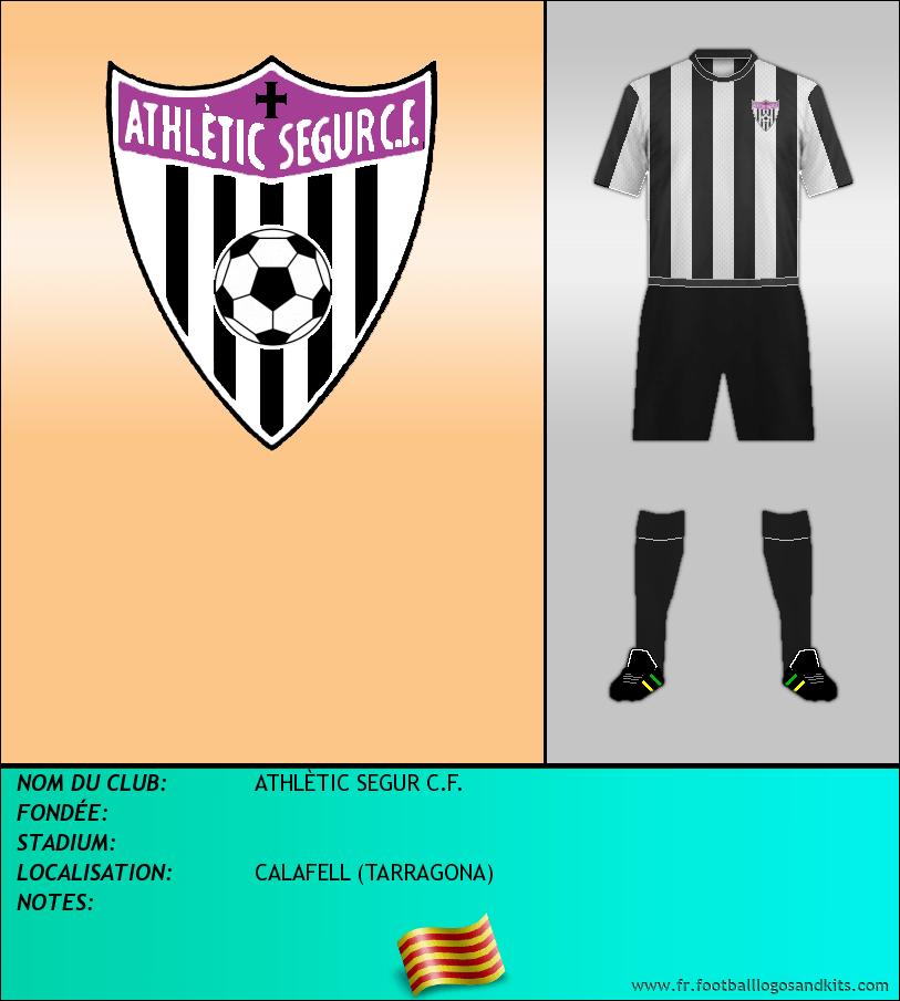 Logo de ATHLÈTIC SEGUR C.F.