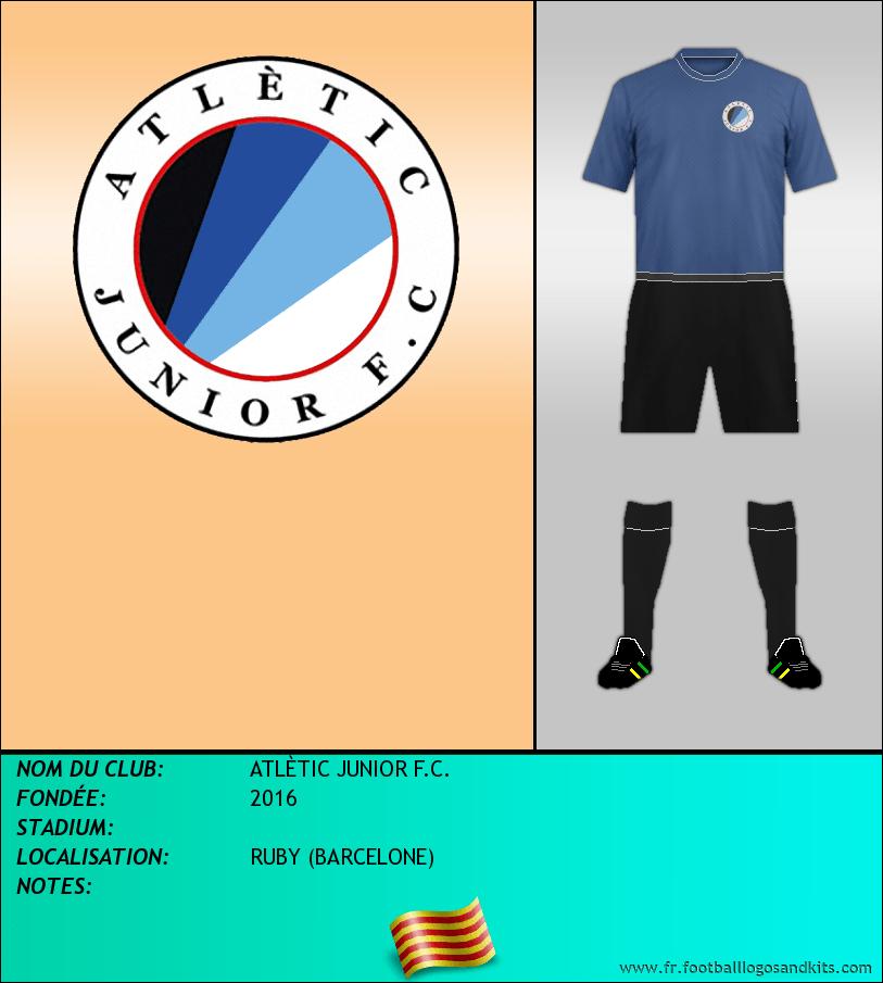 Logo de ATLÈTIC JUNIOR F.C.