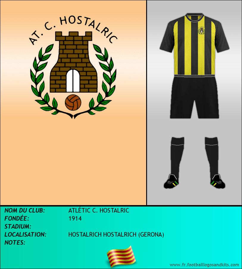 Logo de ATLÉTIC C. HOSTALRIC