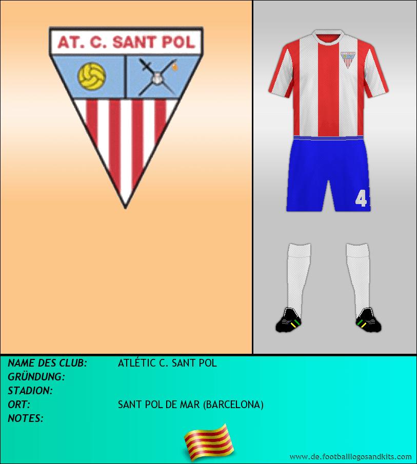 Logo ATLÉTIC C. SANT POL