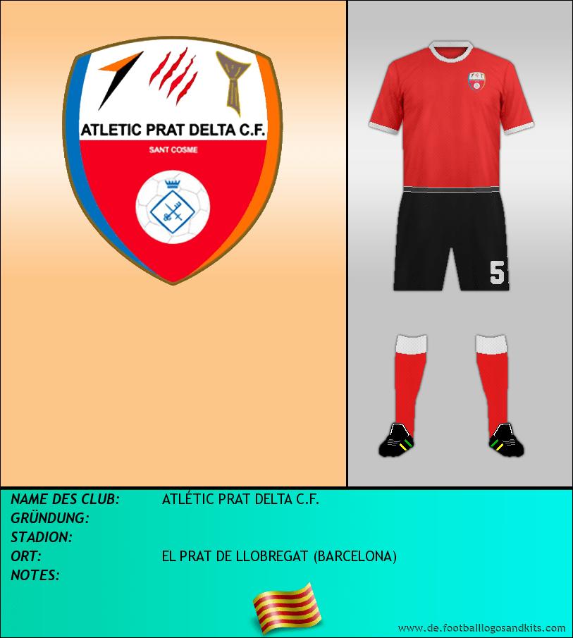 Logo ATLÉTIC PRAT DELTA C.F.