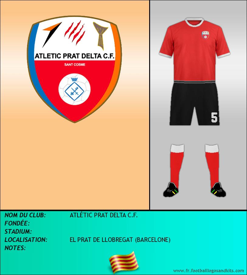 Logo de ATLÉTIC PRAT DELTA C.F.