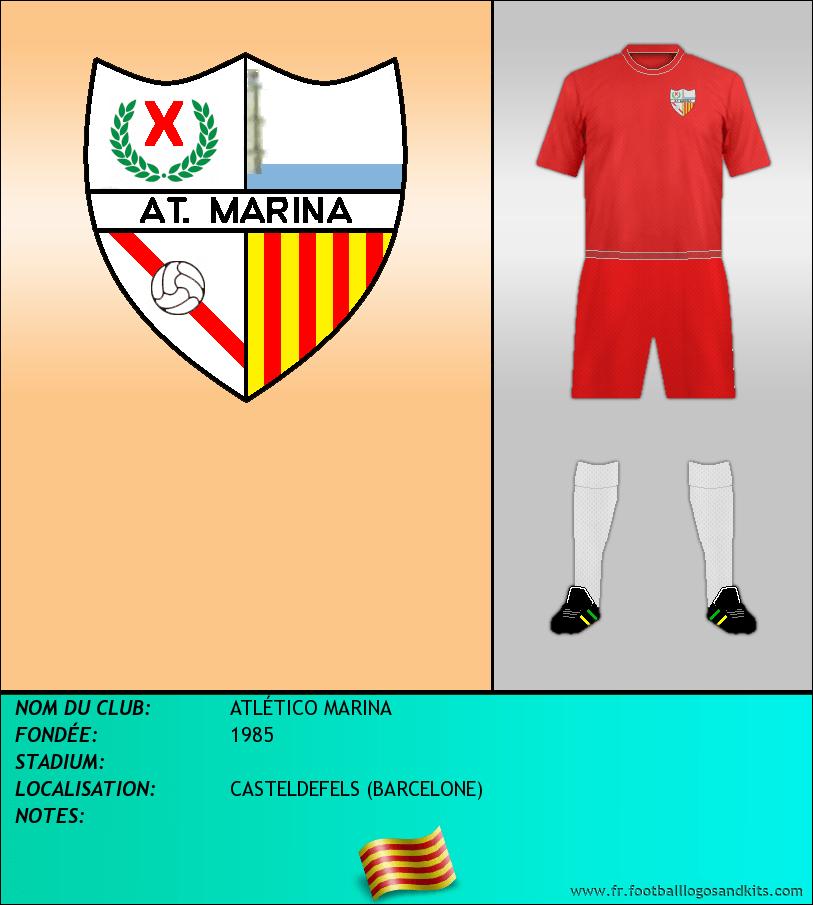 Logo de ATLÉTICO MARINA